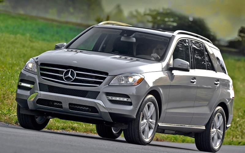 Замена лобового стекла на Mercedes-Benz ML