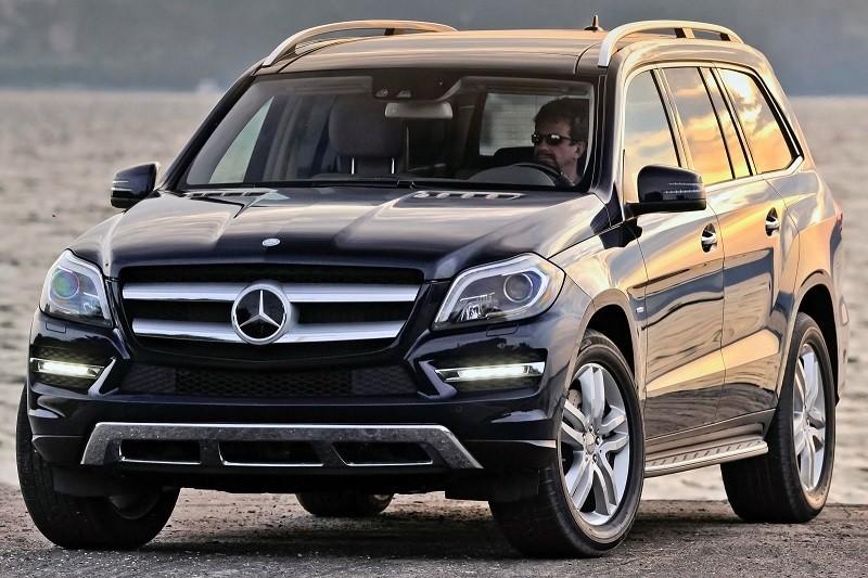 Замена лобового стекла на Mercedes-Benz GL