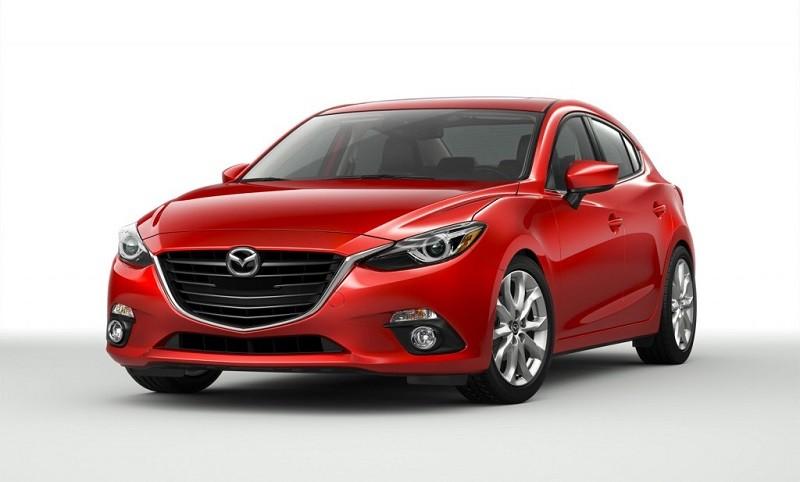 Замена лобового стекла на Mazda 3