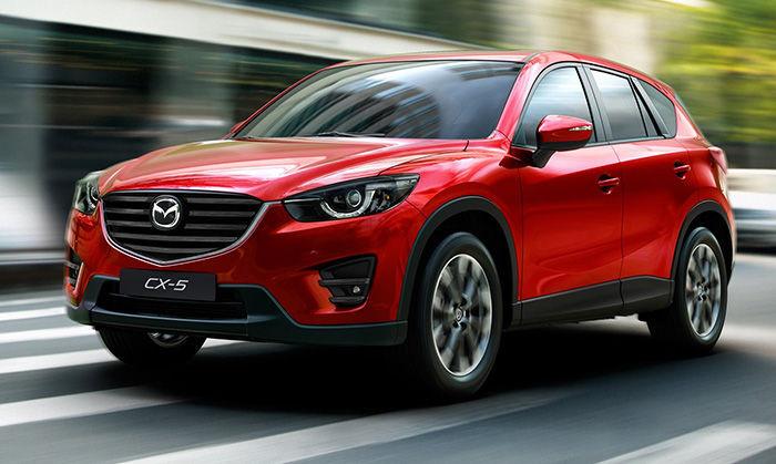 Замена лобового стекла на Mazda CX-5