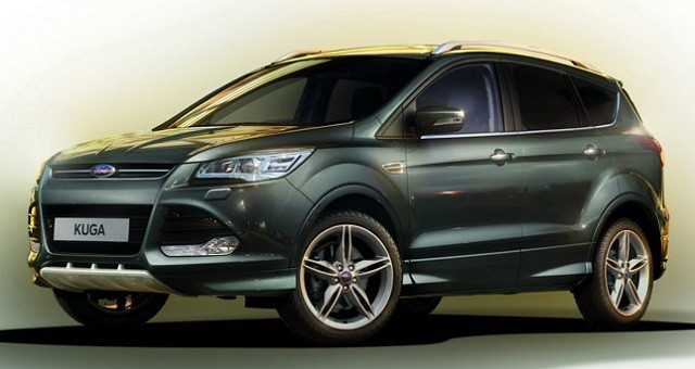 Замена лобового стекла на Ford Kuga