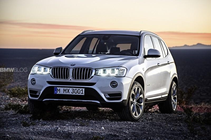 Замена лобового стекла на BMW X3