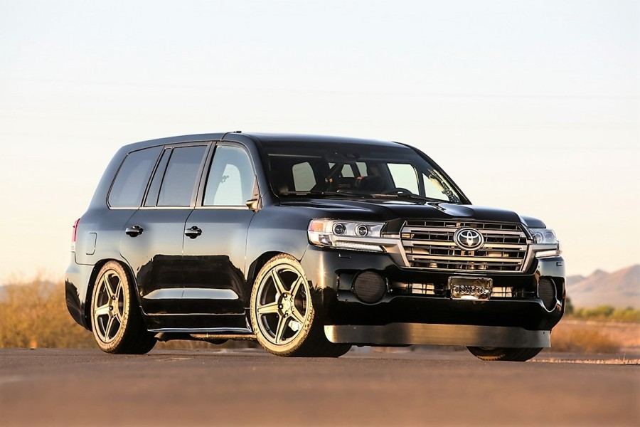 Toyota создала самый мощный и быстрый внедорожник в мире