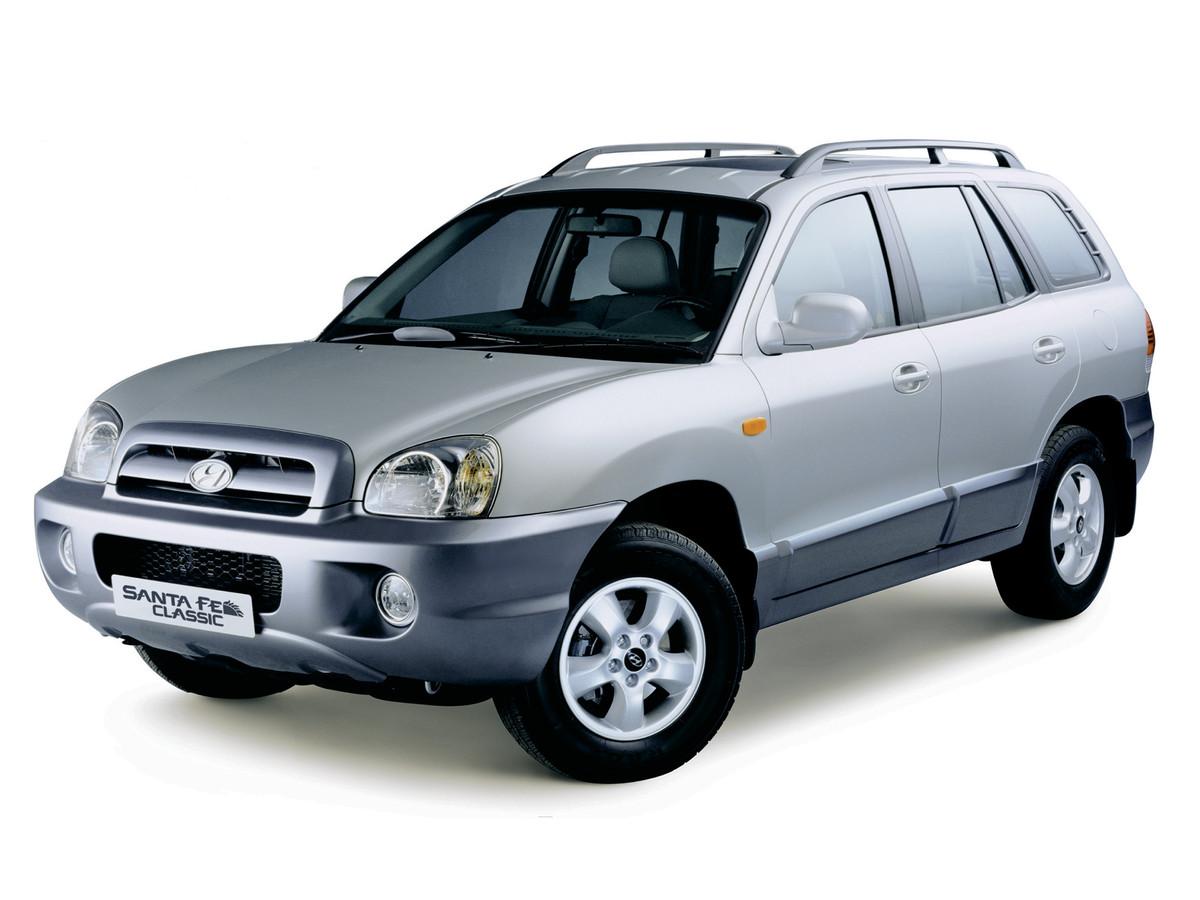 Замена лобового стекла на Hyundai Santa Fe Classic