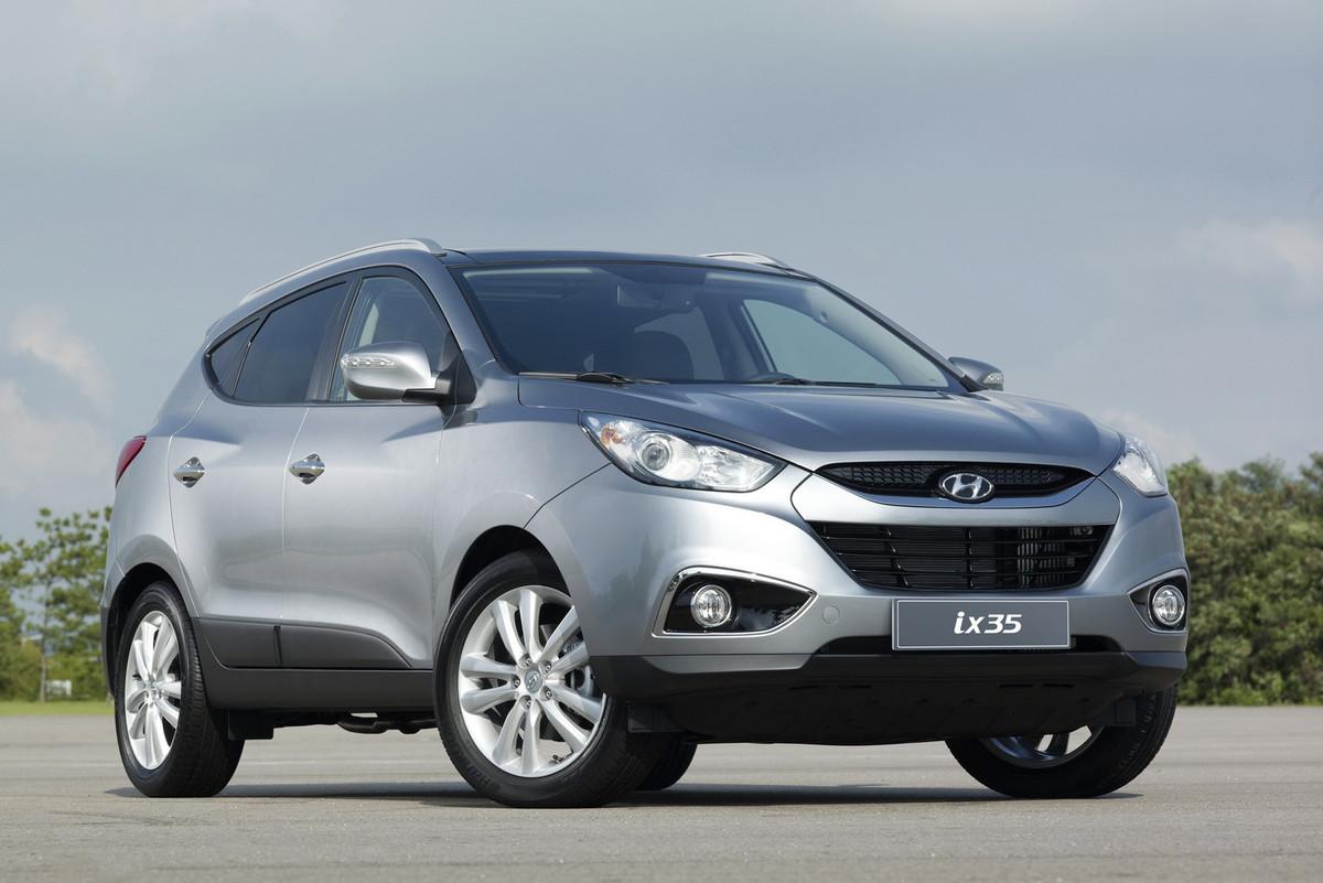 Замена лобового стекла на Hyundai ix35
